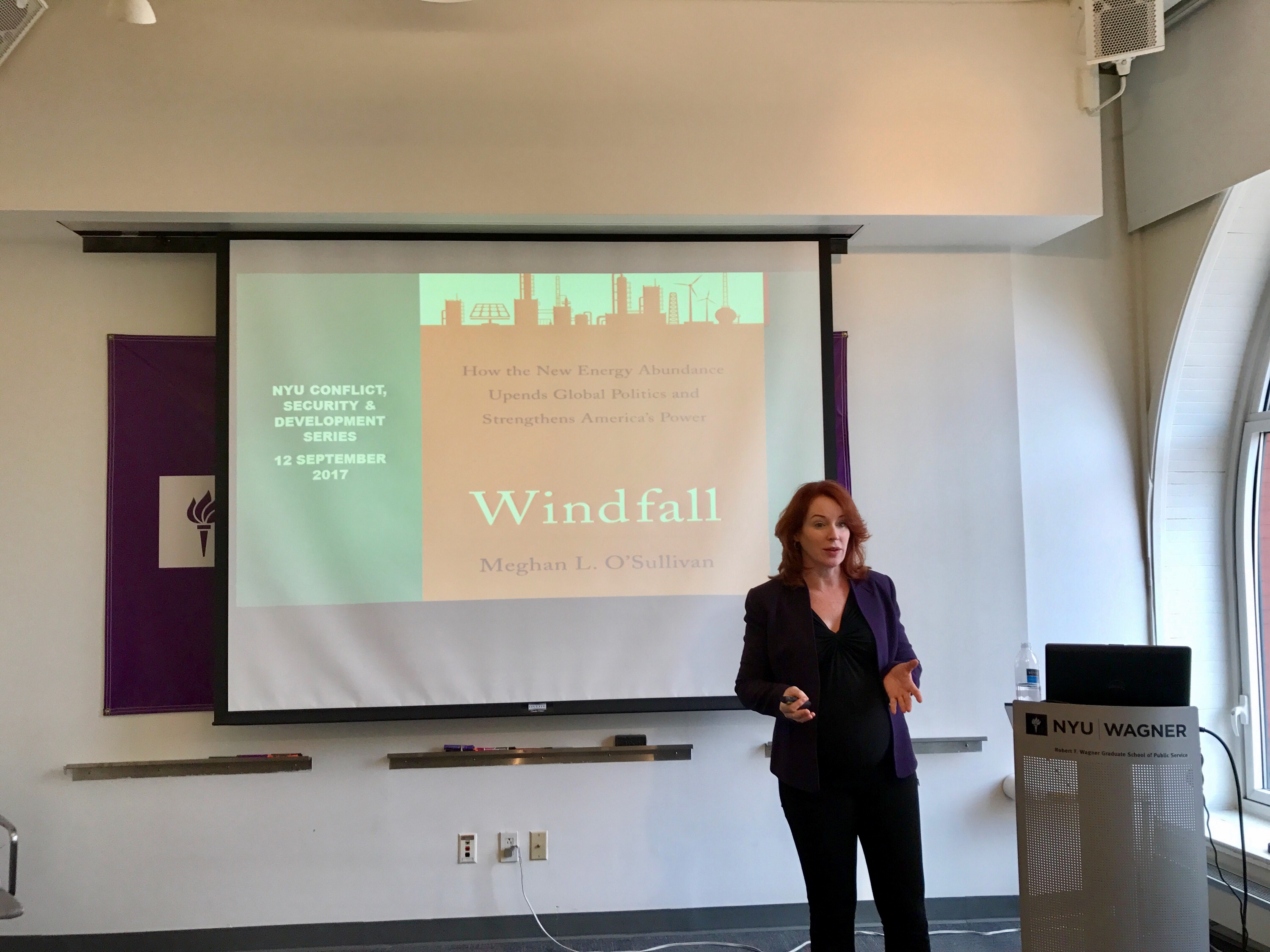 BOOK LAUNCH: WINDFALL WITH MEGHAN L. O'SULLIVAN